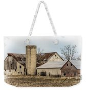 Amish Farm In Etheridge Tennessee Usa Weekender Tote Bag by Kathy Clark
