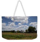 Amish Farm Landscape Weekender Tote Bag