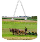Amish Farmer Weekender Tote Bag by Guy Whiteley