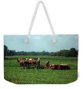 Amish Field Work Weekender Tote Bag