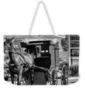 Amish Gas Weekender Tote Bag