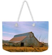 Amish Metal Barn Weekender Tote Bag