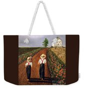 Amish Road Weekender Tote Bag