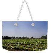 Amish Tobacco Fields Weekender Tote Bag