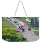 Amish Traffic Jam Weekender Tote Bag