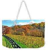 Amish Vinyard Two Weekender Tote Bag