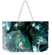 Ammonite Seascape Weekender Tote Bag