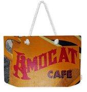 Amocat Cafe Weekender Tote Bag