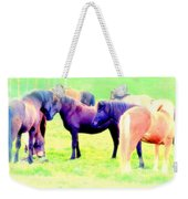 A Horse Most Of All Wanna Be One Among The Other Horses Weekender Tote Bag