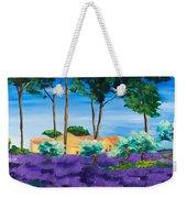 Among The Lavender Weekender Tote Bag