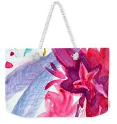 Among The Peonies Weekender Tote Bag