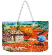Among The Poppies Weekender Tote Bag