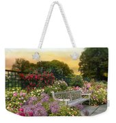 Among The Roses Weekender Tote Bag by Jessica Jenney
