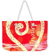 Amore Weekender Tote Bag