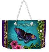 Amore - Butterfly Version Weekender Tote Bag