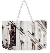Amour Weekender Tote Bag