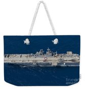 Amphibious Assault Ship Uss Bonhomme Weekender Tote Bag