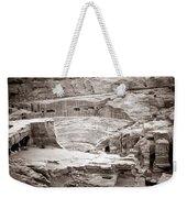 Amphitheater In Petra Weekender Tote Bag