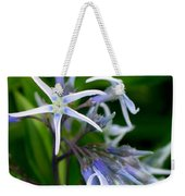 Amsonia Blue Stars Weekender Tote Bag