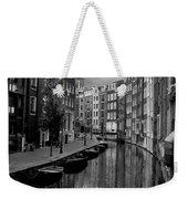 Amsterdam Canal Weekender Tote Bag by Heather Applegate
