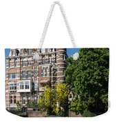 Amsterdam Canal Mansions - The Dainty Tower Weekender Tote Bag