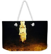 Amsterdam Church And Canal Weekender Tote Bag
