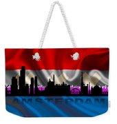 Amsterdam City Weekender Tote Bag