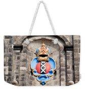 Amsterdam Coat Of Arms On Westerkerk Tower Weekender Tote Bag
