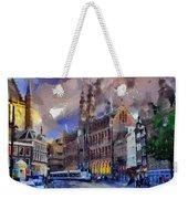 Amsterdam Daily Life Weekender Tote Bag