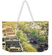 Amsterdam Holland Netherlands In Vintage Style Weekender Tote Bag