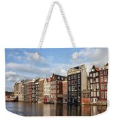 Amsterdam Old Town At Sunset Weekender Tote Bag
