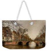 Amsterdam Panorama Weekender Tote Bag