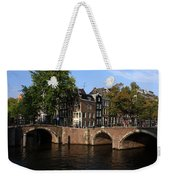 Amsterdam Stone Arch Bridges Weekender Tote Bag