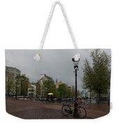 Amsterdam - The Yellow Umbrella Weekender Tote Bag