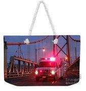 Amubulance  Weekender Tote Bag