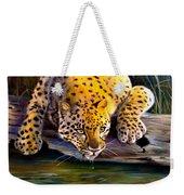 Amur Leopard  Spotted Something Weekender Tote Bag