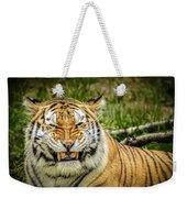 Amur Tiger Smile Weekender Tote Bag