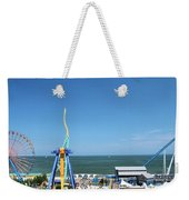 Amusement Park View Weekender Tote Bag