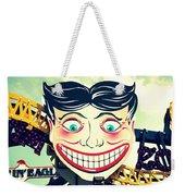 Amusement Smile Weekender Tote Bag