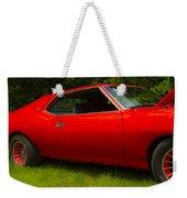 Amx Muscle Car Weekender Tote Bag
