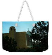 An Adobe Church In New Mexico Weekender Tote Bag