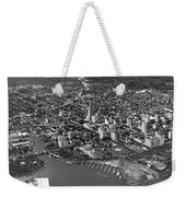 An Aerial View Of Miami Weekender Tote Bag
