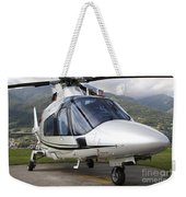 An Agustawestland A109 Power Elite Weekender Tote Bag