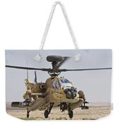 An Ah-64d Saraf Attack Helicopter Weekender Tote Bag