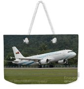 An Airbus A320 Of The Royal Air Force Weekender Tote Bag