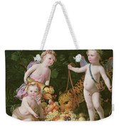 An Allegory Of Peace And Plenty Weekender Tote Bag