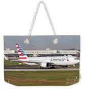An American Airlines Boeing 767 Weekender Tote Bag
