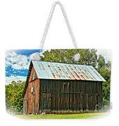 An American Barn 2 Oil Weekender Tote Bag