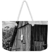 An American Barn Bw Weekender Tote Bag by Steve Harrington