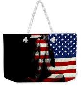 An American Woman Weekender Tote Bag